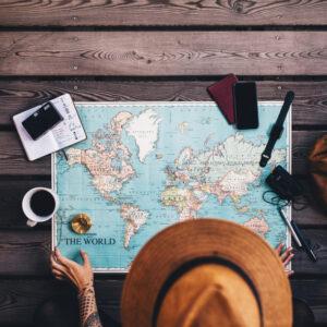 Aprenda exercícios para fazer em viagens