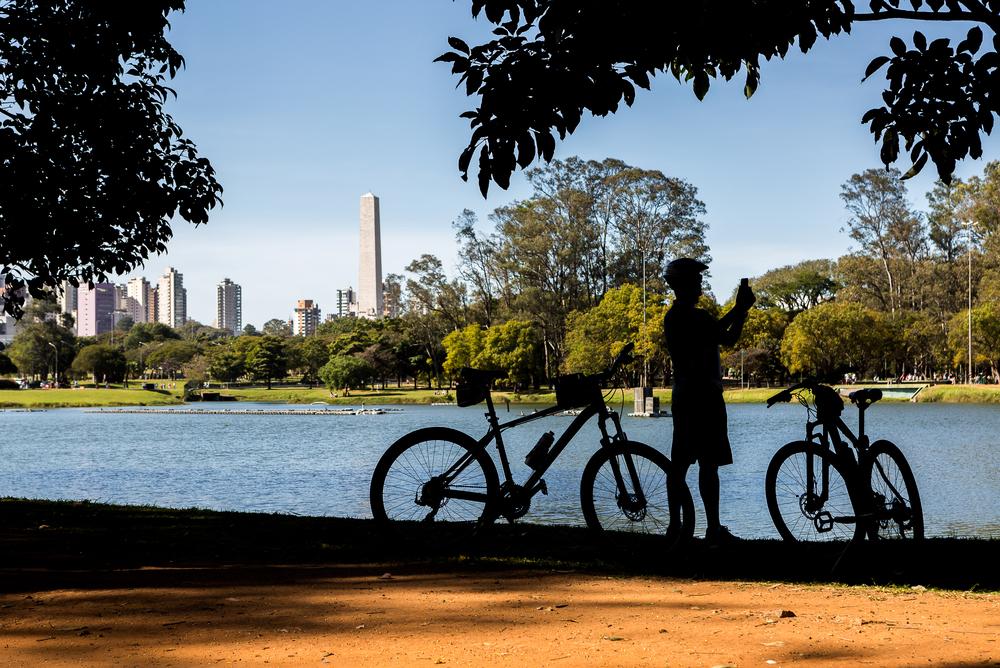 O Parque Ibirapuera é um espaço completo para a prática de atividades físicas
