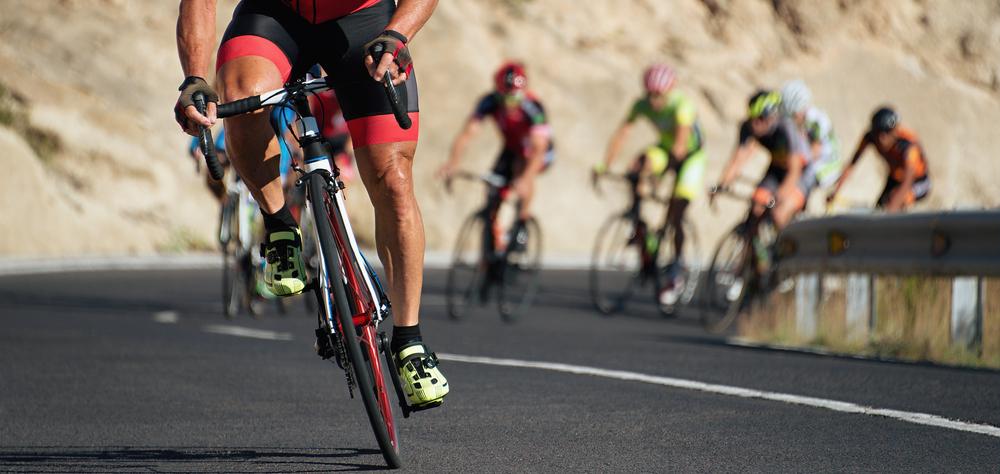 O ciclismo traz vantagens para o seu corpo também.